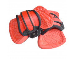 Fluid Feather Lite bindingen (Pads + straps) Red
