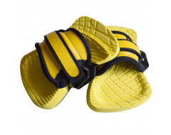 Fluid Feather Lite bindingen (Pads + straps) Yellow