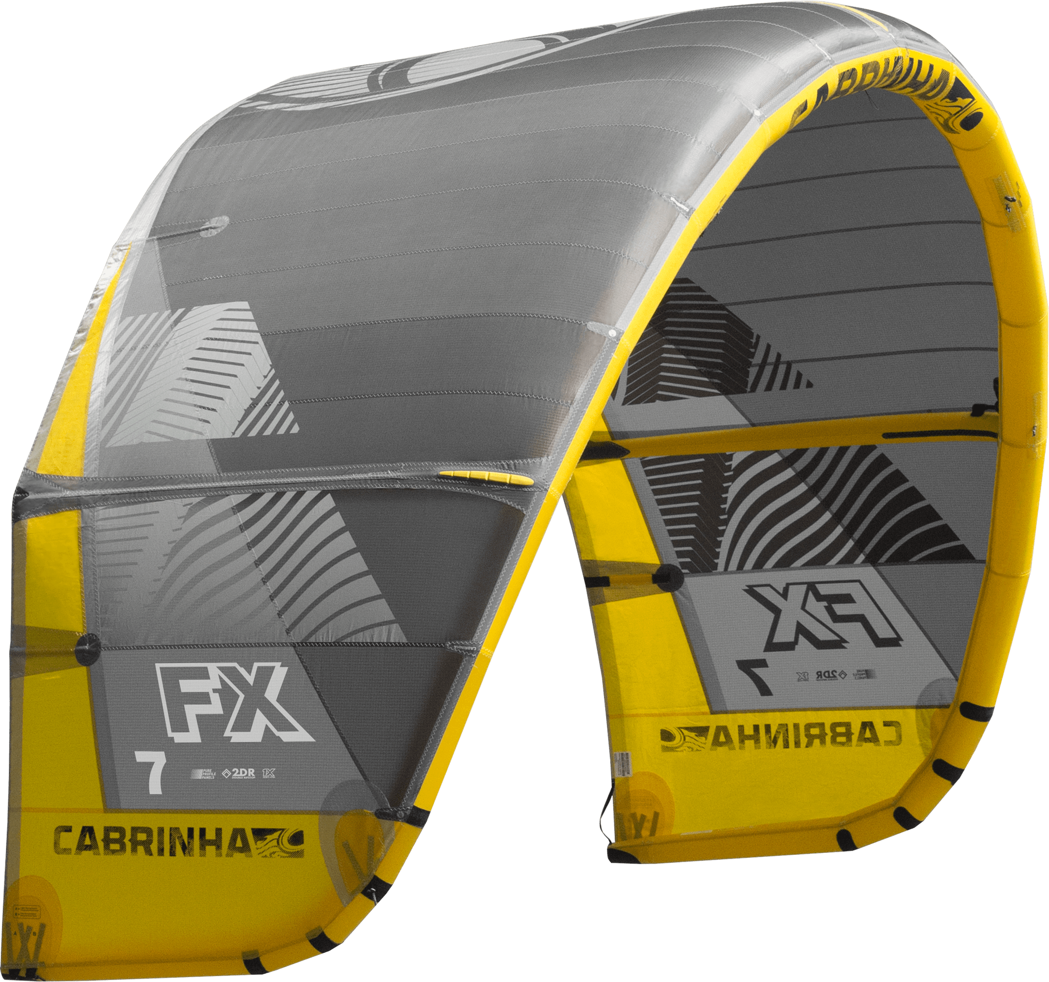 Cabrinha FX 2019 Kite Only Grey/Yellow