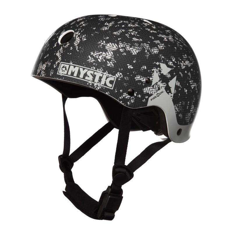 Mystic MK8 X helm Black/White 2019