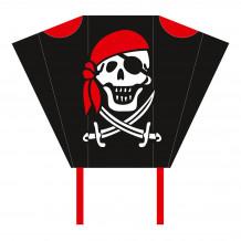 HQ Pocketsled Jolly Roger | Kindervlieger