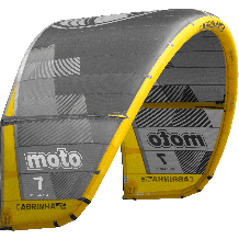 Cabrinha Moto 2019 Kite Only Grey/Yellow