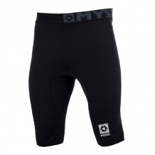 Mystic Bipoly Thermo Pant Short Men Black 2019