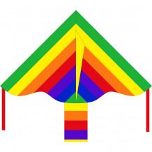 HQ Eco Line Simple Flyer Rainbow 85cm