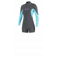 Neilpryde Vamp Spring Cut Low Wetsuits 2/2 Backzip Graphite/Turquoise 2020